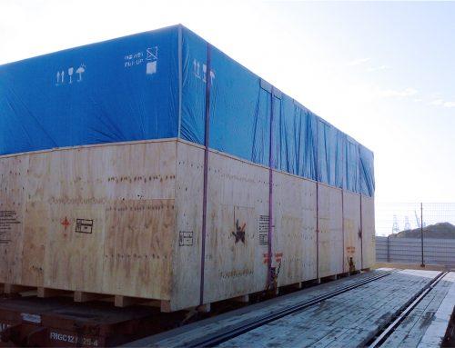 Transport of Machine tool