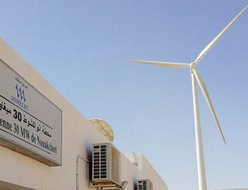 Descarbonización y nuestra aportación al primer  parque eólico en Nouakchott (Mauritania)
