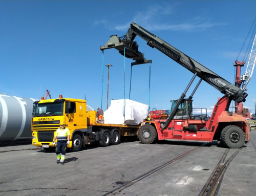 Pipes, electrical machinery & other oversized cargo shipped from Spain to Mexico.